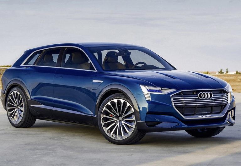 Arriva e-Tron: il primo suv elettrico firmato Audi