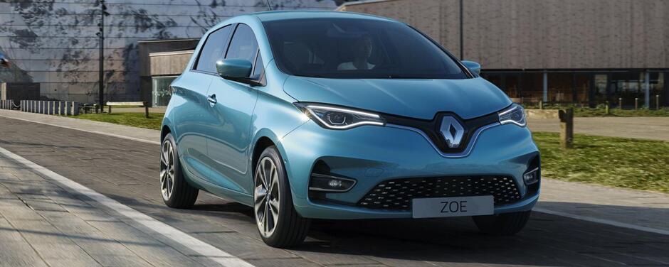 Zoe Renault miglior auto da flotta elettrica 2019