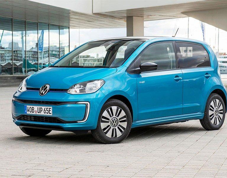 Volkswagen e-up a noleggio